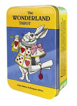 Fortune Telling Tarot Cards Wonderland Deck Collectable Tin Join Mad Tea Party Mad Hatter Alice