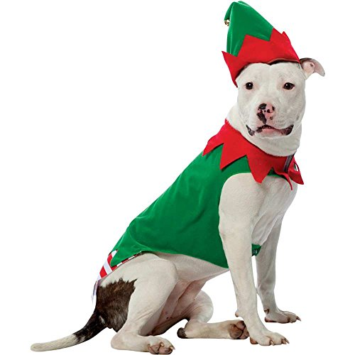 Elf Dog Pet Costume - X-Large