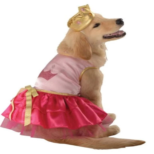 Princess Pup Dog Costume - Large