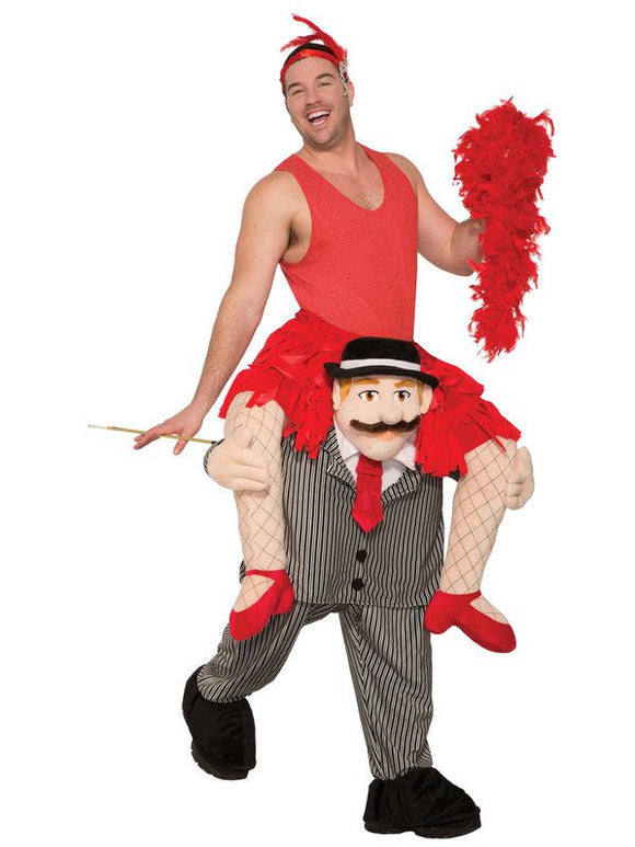 ADULT RIDE A FLAPPER COSTUME-6-14