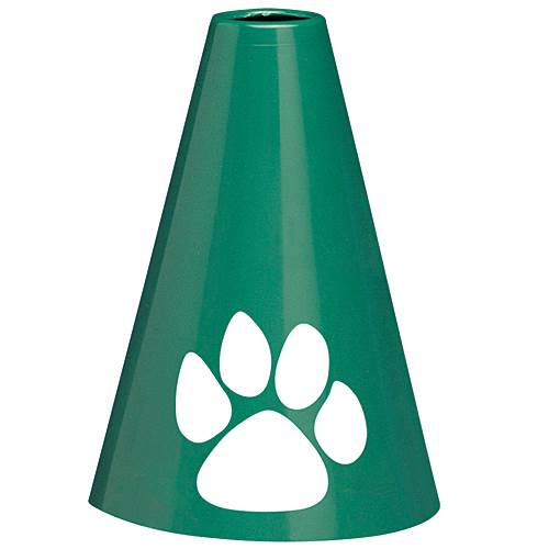 GREEN & WHITE PAW CHEERPHONE