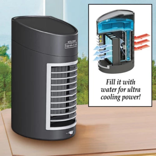 Kool Down Evaporative Cooler, Black