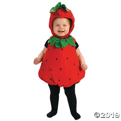 Berry Cute Strawberry Infant Costume - Infant