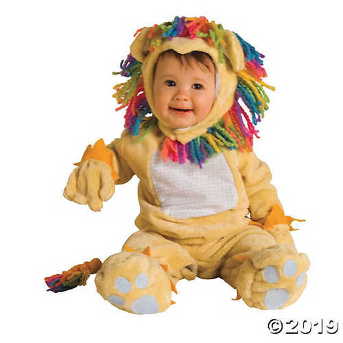 Fearless Lil' Lion Infant Halloween Costume