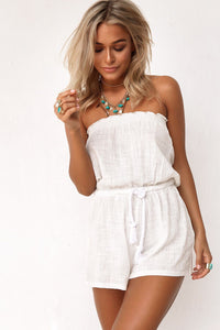 Richi White Jumpsuit