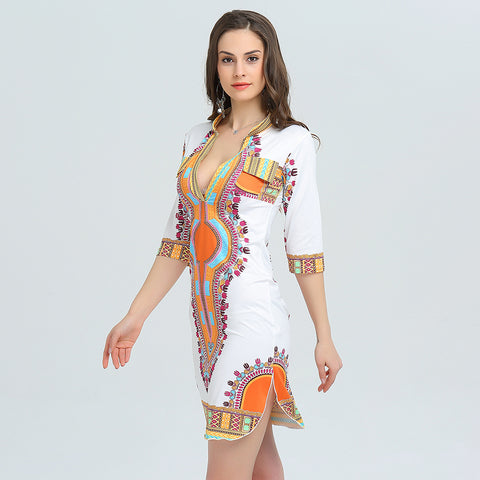 Hippie Dashiki Dress