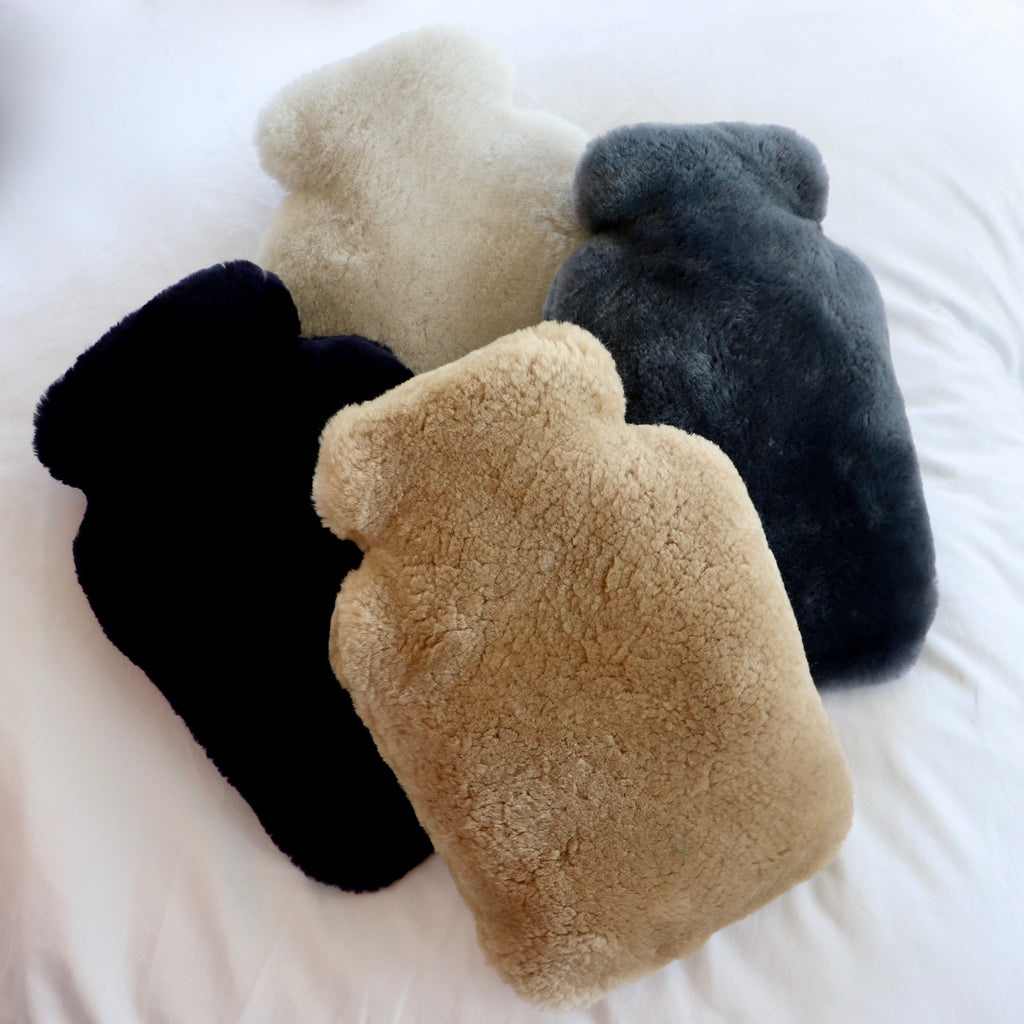 Luxury Sheepskin Hot Water Bottle