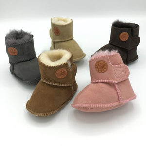 Merino Sheepskin Baby and Toddler Booties