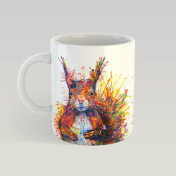 Cyril The Squirrel - 11 oz. Ceramic Mug