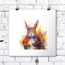 Cyril The Squirrel - Print