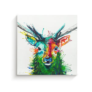 Elvis The Stag - Canvas