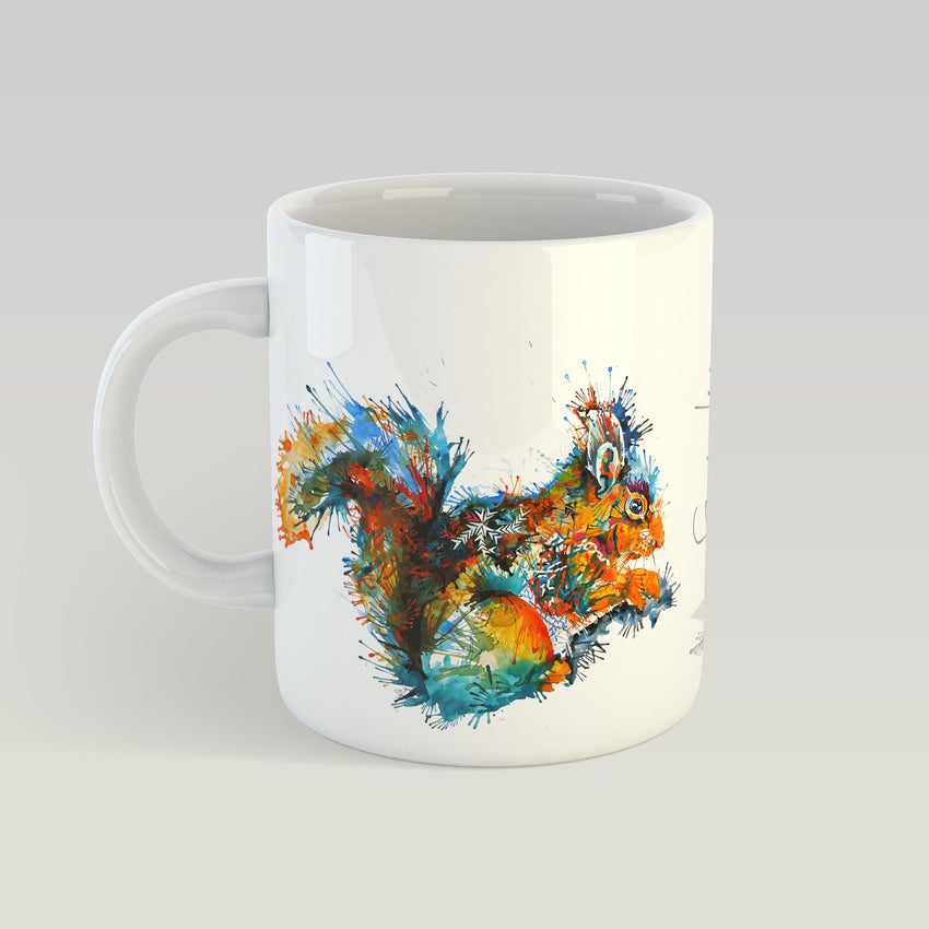 Felicity The Squirrel - 11 oz. Ceramic Mug