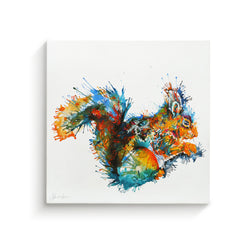 Felicity The Squirrel - Canvas
