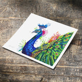 Percival Peacock - Fine Art Print