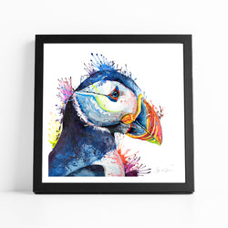 Peter Puffin - Fine Art Print
