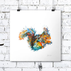 Felicity The Squirrel - Print