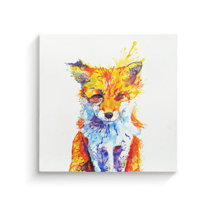 Fox of Delights - Canvas