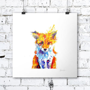 Fox Of Delights - Print