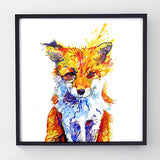 The Fox of Delights - Original Painting
