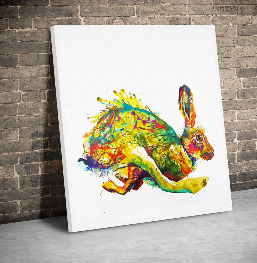 Here Hare Here - Canvas