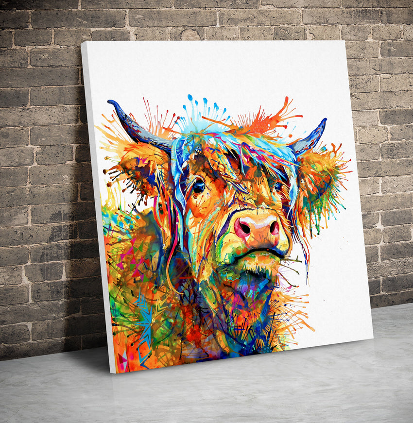Maggie Moo - Canvas