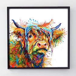 Maggie Moo - Original Cow Painting