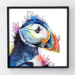 Peter Puffin - Original Puffin Painting