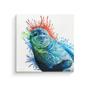 Seal Of Approval - Canvas