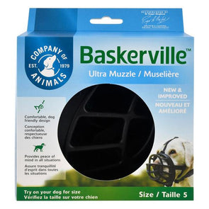 Baskerville Ultra Muzzle, Size 5 Accessories German Shepherd Shop