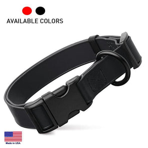 Biothane Waterproof Dog Collar with Quick Release Buckle Collar German Shepherd Shop