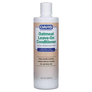 Davis Oatmeal Leave-On Conditioner Grooming German Shepherd Shop
