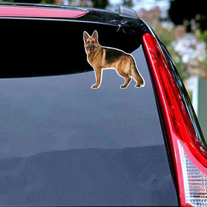 German Shepherd Standing - Sticker Stickers German Shepherd Shop