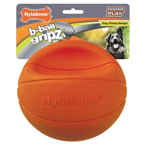 Nylabone Power Play B-Ball Grips Basketball Toys German Shepherd Shop
