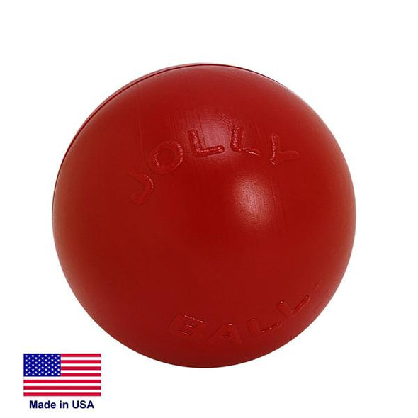 Push-n-Play Jolly Ball Toys German Shepherd Shop 4.5 -in Red