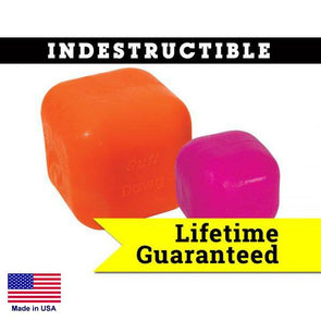 Ruff Dawg Indestructible Rubber Floating Cube - Guaranteed For Life Toys German Shepherd Shop