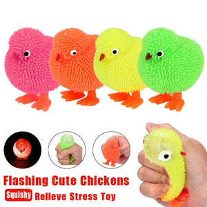 Squidgey Chickens Squidgy Sensory Toy