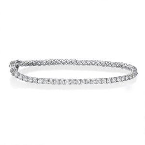 4.50 ct Round Brillant Cut Diamond Tennis Bracelet