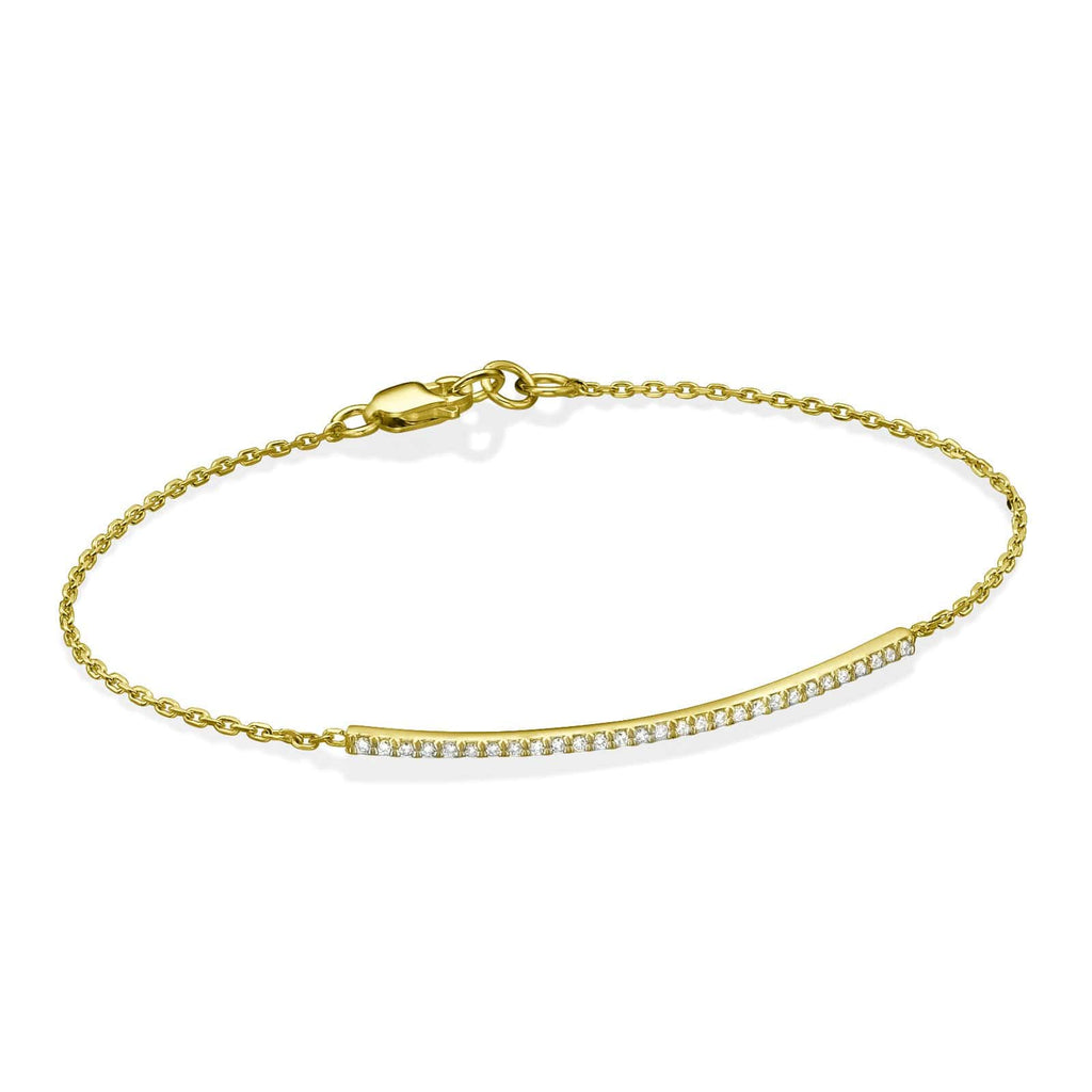 Diamond Bracelet In 18K Gold