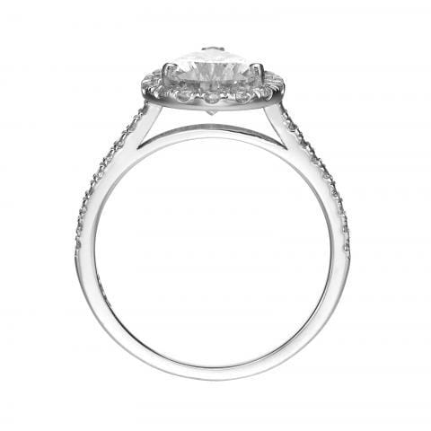 2.00 ct Pear Shaped Diamond Engagement Ring