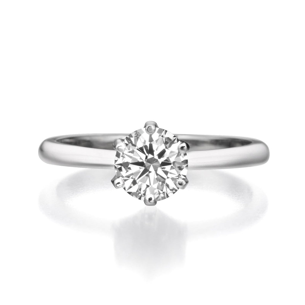 b5ddc445b 1.21 ct Round Cut Diamond Engagement Ring – BenzDiamonds