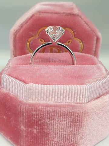 2 Carat Round Brilliant Cut Diamond Engagement Ring
