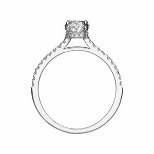 1.50 ct Oval Cut Diamond Engagement Ring
