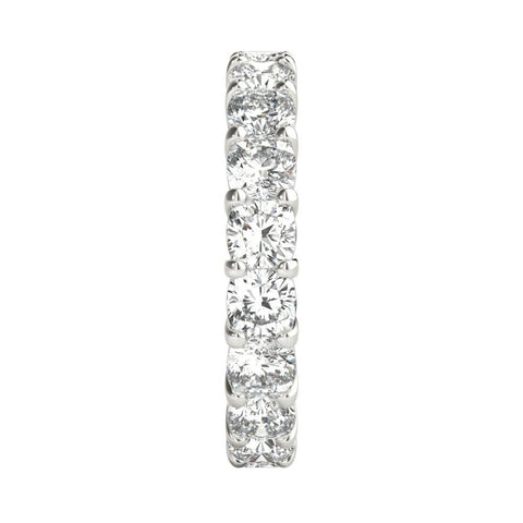 3 ct Cushion Cut Diamond Eternity Band