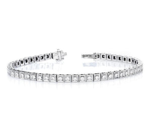 1 ct Round Brilliant Cut Diamond Tennis Bracelet