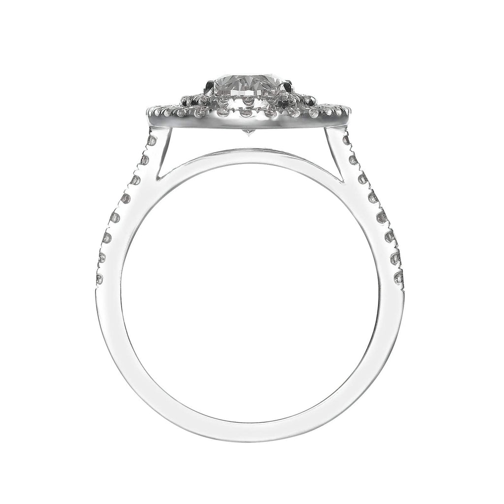 2.52 ct Oval Cut Diamond Engagement Ring