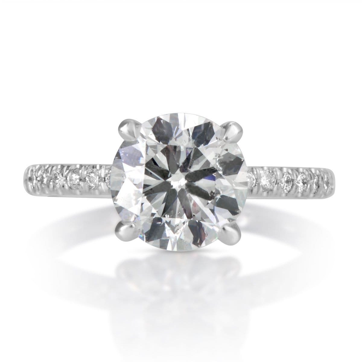 2.20 ct Round Brilliant Cut Diamond Engagement Ring