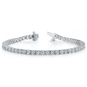 2.50 ct Round Brilliant Cut Diamond Tennis Bracelet