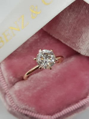 1.50 ct Round Brilliant Cut Diamond Engagement Ring