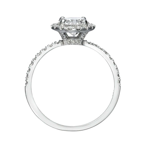 2.25 ct Cushion Cut Diamond Engagement Ring