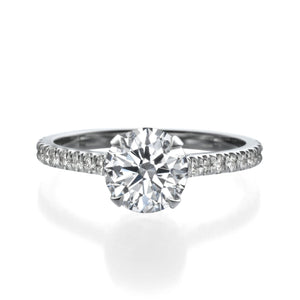 2.00 ct Round Cut Diamond Engagement Ring
